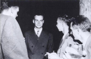 فاینمن و اپنهیمر در لوس آلاموس