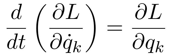 معادله اویلر-لاگرانژ