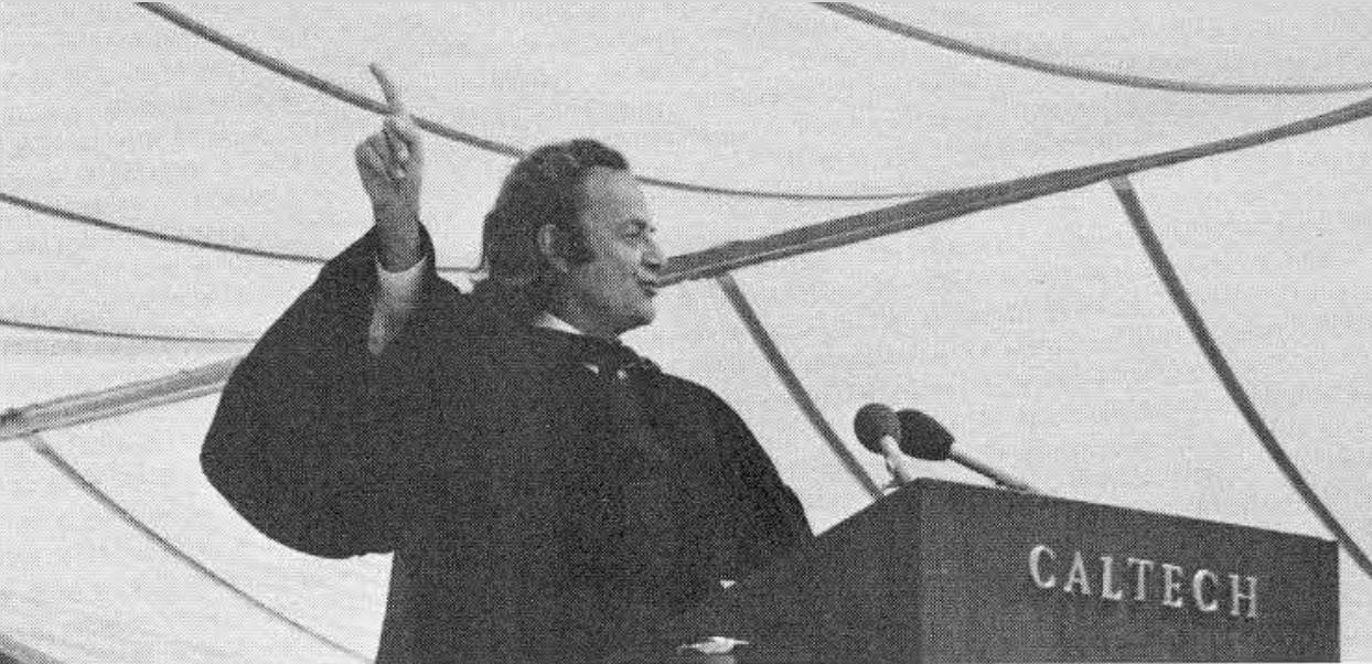 سخنرانی ریچارد فاینمن در کلتک